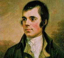 Robert Burns Ayrshire Tour - Portrait from National Gallery
