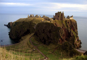 Dunotter Castle - Scotland Tour