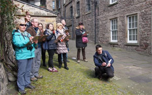 Sketching the Royal Mile Tour