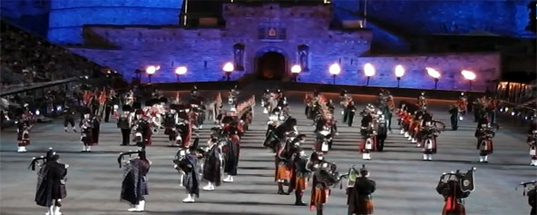 Edinburgh Military Tattoo - Scotland Tours