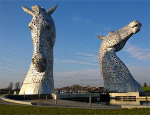 Private Tour to The Kelpies