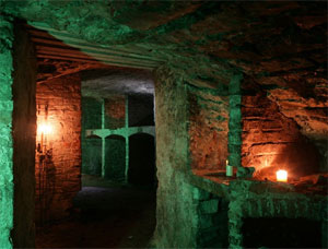 Ghostly Edinburgh Underground Tour