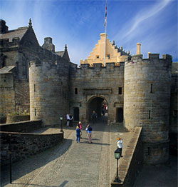 Private Tour to Stirling Castle from Greenock