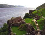 On the shores of Loch Ness and Highlands Experience Tour from Glasgow