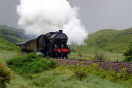 Jacobite Steam Train Highland Tour