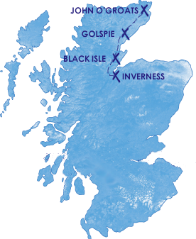 John OGroats and the Far North Tour from Inverness