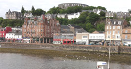 View of Oban Bay
