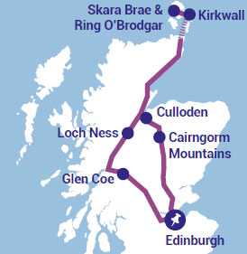 The Orkney Isles Tour Experience from Edinburgh