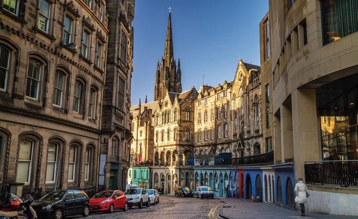 princes street edinburgh sightseeing