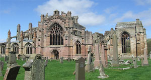 Melrose Abbey Scottish Borders Tour
