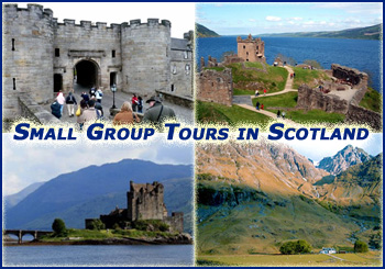 Small Group Sightseeing Tours of Scotland