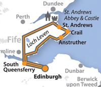 Day Tour to St. Andrews and The Fishing Villages of Fife